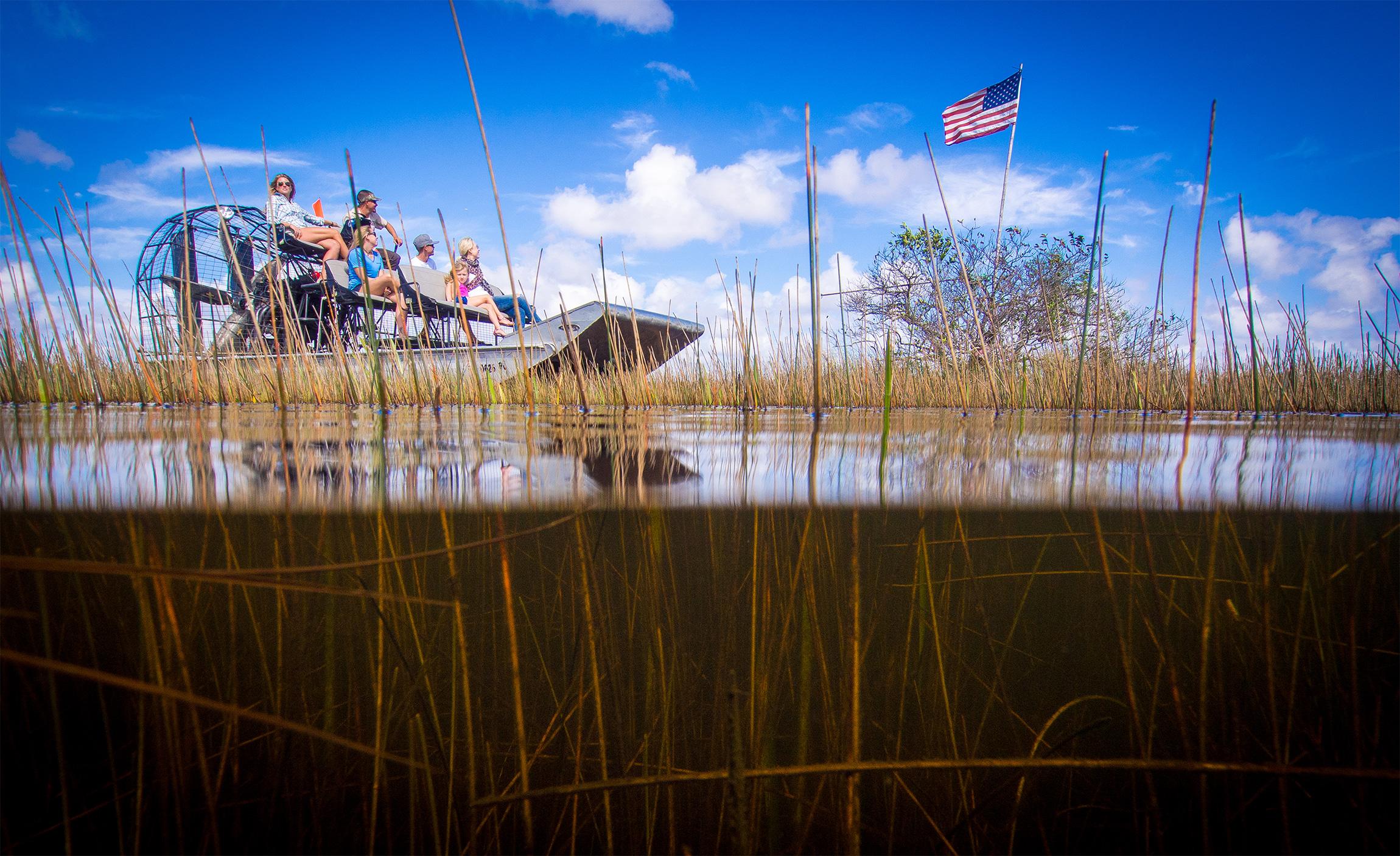 Florida Airboat Rides at Gator Park - Everglades Airboat