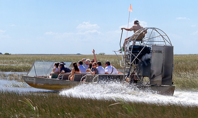Exciting Airboat Ride